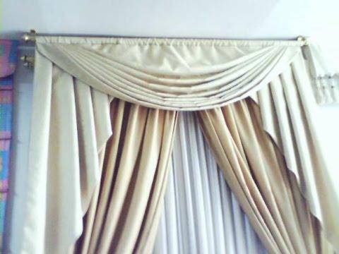 Como hacer cortinas drapeadas youtube for Como hacer cortinas corredizas