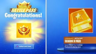 "How to Unlock ""SEASON 9 BATTLE PASS"" FREE in Fortnite! (Season 9 Battle Pass)"