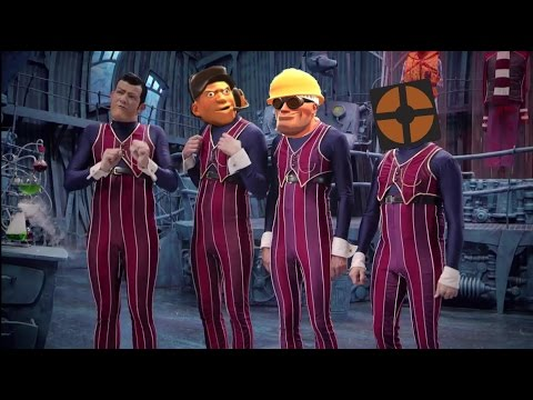 We Are Number One but every one is replaced with a random Tf2 video