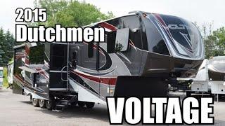 2015 Dutchmen Voltage 3895 | Fifth Wheel Toyhauler