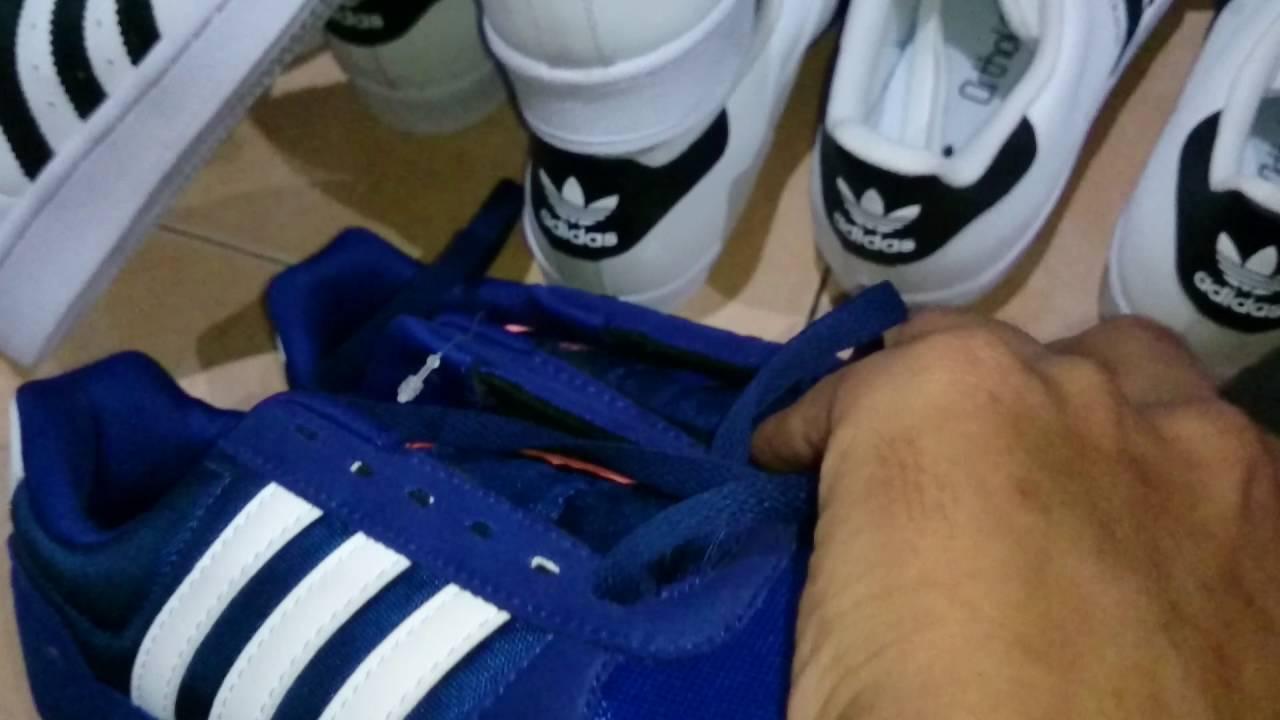 Tompelstore Adidas neo city racer navy - YouTube
