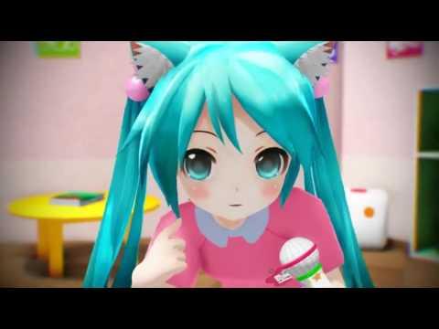 """Loli Miku Sings """"World is Mine"""""""