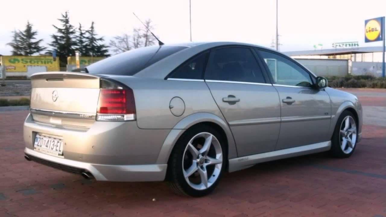 Opel Vectra C Tuning Youtube