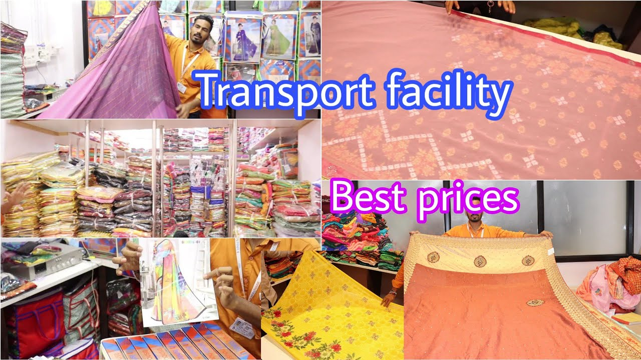 Sarees starts@90|Tops,kurtis,dress materials,Lehangas,leggings@best prices 4 your business|transport