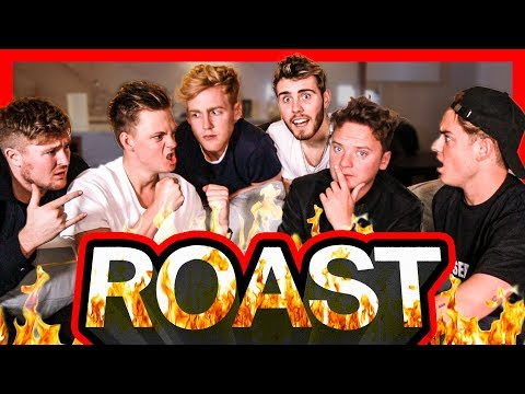 R ROAST CHALLENGE ft. Pointlessblog, Conor Maynard, Jack, Josh & Mikey