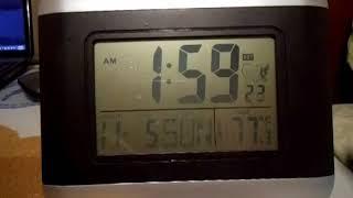 Bryan Celebrates Daylight Savings Time - Watching EST On The A-Clock
