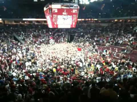 Gamecocks On The Floor With Sandstorm After Beating #1 Kentucky