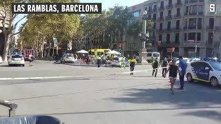 Amateurvideos aus Barcelona: Die Momente nach dem Terroranschlag