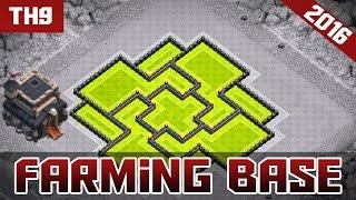 [COC] NOUVELLE MAJ | TH9 FARMING BASE - TH11 DECEMBRE MAJ - CLASH OF CLANS {30 LIKES?!}