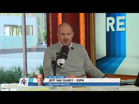Jeff Van Gundy of Espn Previews The NBA Eastern Conference Playoffs - 4/12/18
