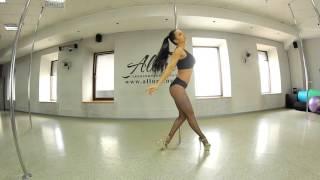 Exotic Pole Dance  танцевальная связка для начинающих и среднего уровня