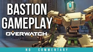 Overwatch - BASTION GAMEPLAY (no commentary)