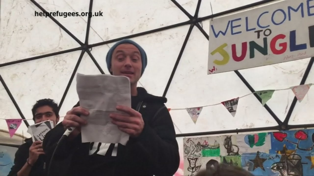 Jude Law Visits A Calais Refugee Camp To Make An Important Appeal advise