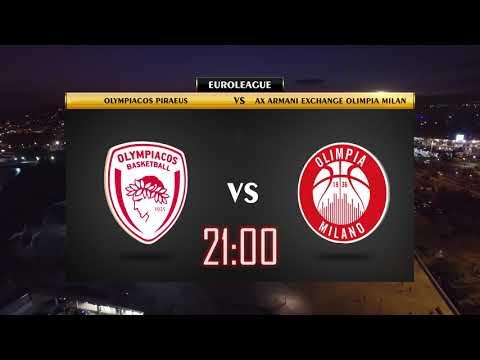 Olympiacos BC - AX Armani Exchange Olimpia Milan Promo Video