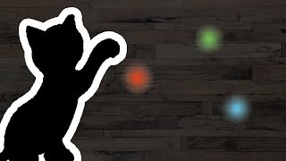 Cat Games App - Catch The Laser Pointer Video (for cats only)