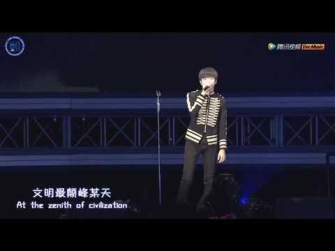 【Karry Wang Junkai】Dark Knight Live TFBOYS 3rd Anniversary Fan Meeting Beijing【TFBOYS 王俊凯】