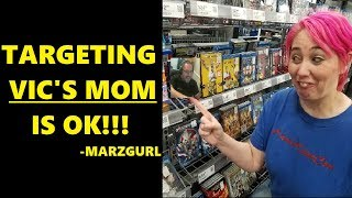 """ATTACK VIC'S MOM!"" Marzgurl ATTACKS Vic Mignogna's MOM; Shane Holmberg Says That's OK Because..."