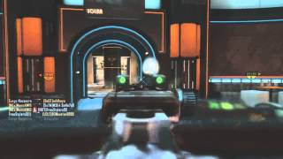 Black ops 2: Surge Massacre -  Nuclear on Plaza w/MP7!