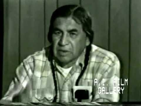 Tribal leader interview in Yakima language
