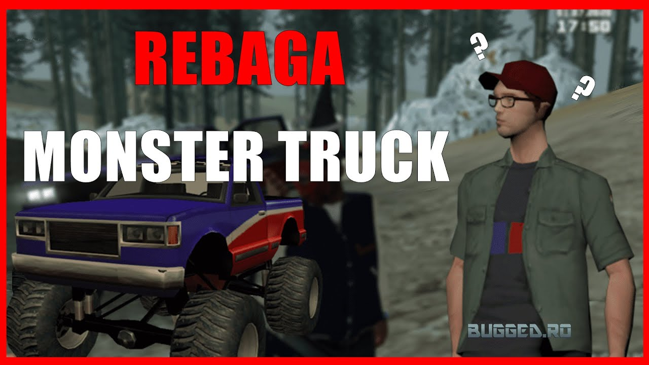 Shad0w a bagat Monster Truck pe server! (de mult) Questuri ok.