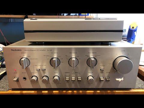 Technics SU-V8 Amplifier Repair, Service & Deep Clean + Bonus SL-10!