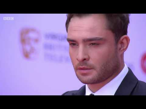 Ed Westwick At The BAFTA TV Awards 05/14/17