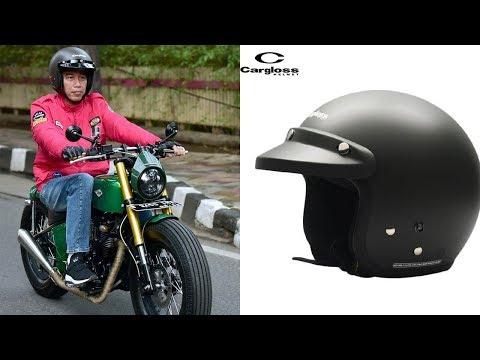 Asli Buatan Indonesia, Segini Harga Helm yang Dipakai Jokowi saat Naik Kawasaki W175 ke Pasar Anyar Mp3