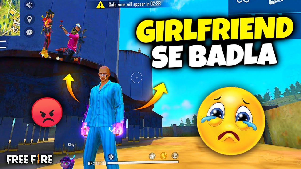 Girlfriend Cheated Me On Factory Top 😡- Revenge With My GF - Garena Free Fire