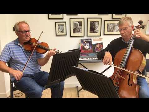 String Duo Brown Eyed Girl