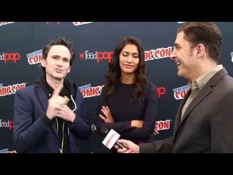 Jeremy Davies and Janina Gavankar on
