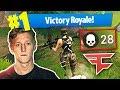 FaZe Tfue Drops 28 in Solo Squads - Fortnite: Battle Royale