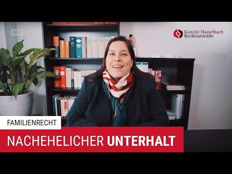 Voraussetzungen und Verwirkungen des nachehelichen Unterhalts – Kanzlei Hasselbach