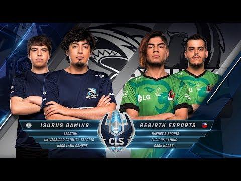 Copa Latinoamérica Sur Apertura - S2D1 - Isurus Gaming vs Rebirth eSports