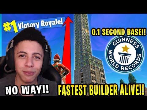 "Russian ""FASTEST BUILDER"" can beat TSM_MYTH in building !! FORTNITE SUMMER SKIRMISH!!"