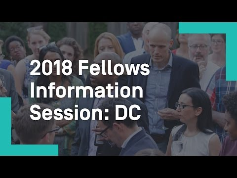 2018 Fellows Information Session - DC