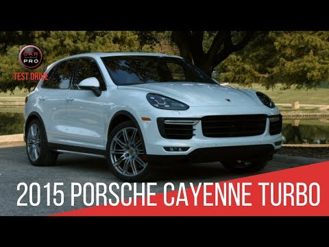 2015 Porsche Cayenne Turbo Test Drive