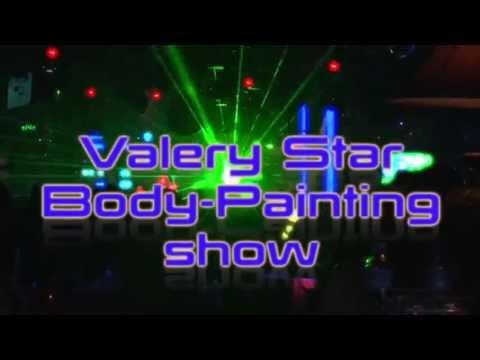 "DJ VALERY STAR & Body-Painting Ballet. ""88 Club"" Birthday Party."