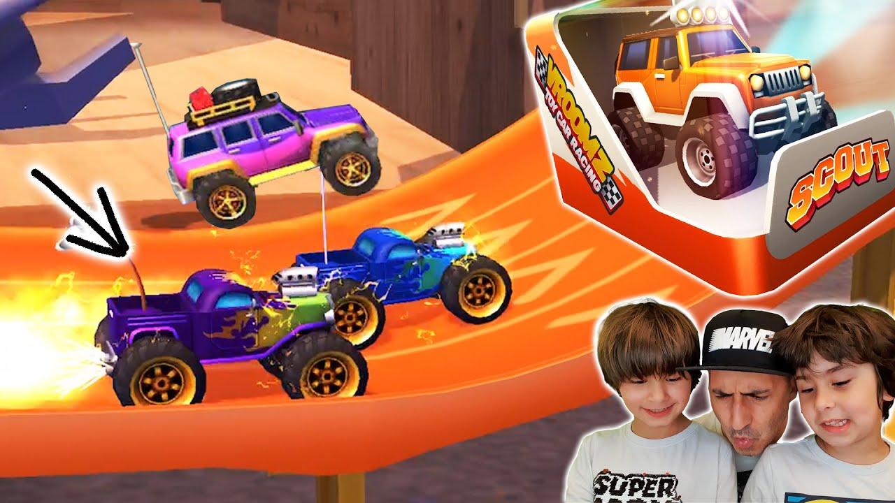 EVAN domina el PODER de la NITRO y gana un nuevo coche en NITRO JUMP!!