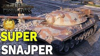 SUPER SNAJPER - LEOPARD 1 - WORLD OF TANKS