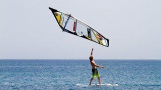 Steven Van Broeckhoven  B-72. World Champion.  Classic of freestyle  windsurfing