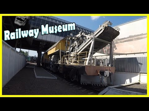Exploring Special Soviet And Russian Trains In Railway Museum In Kiev 2018. Old Trains 2018