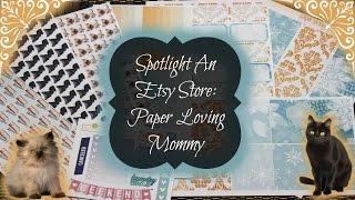 Spotlight An Etsy Store: Paper Loving Mommy