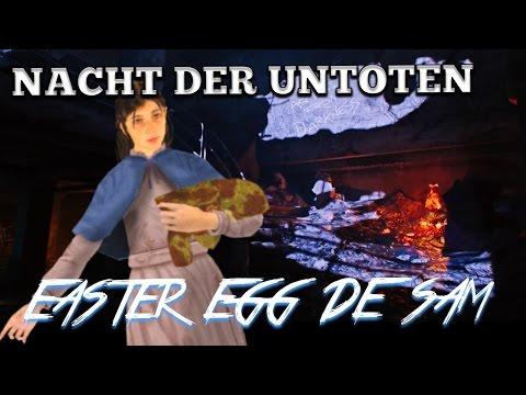 Nacht Der Untoten - Samantha Easter Egg
