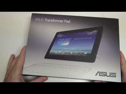 Asus Transformer Pad TF701 Unboxing