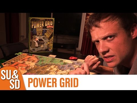 Power Grid Deluxe - Shut Up & Sit Down Review