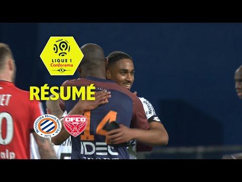 Montpellier Hérault SC - Dijon FCO ( 2-2 ) - Résumé - (MHSC - DFCO) / 2017-18