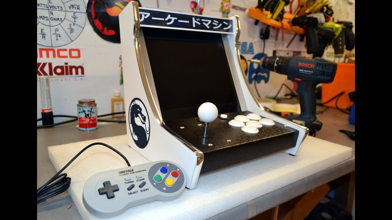 how to make a mini arcade machine