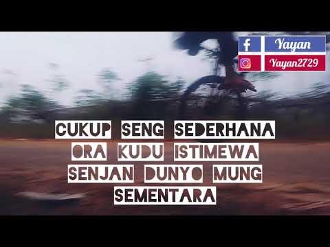 Status Wa Keren Kata Kata Bahasa Jawa Demi Kowe