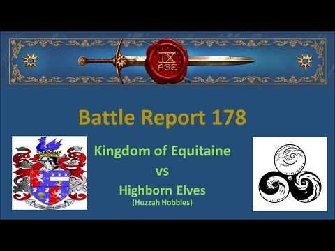 The 9th Age Battle Report 178