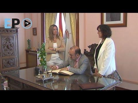 El rector de la USC se reúne con Campos y Méndez para reforzar lazos